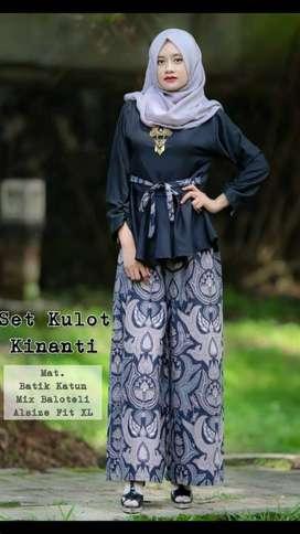 Setelan Kulot Lawasan Kinanti original by Arla Butik