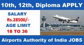 Hiring for Computer Executive  at Jaipur Airport Apply now.