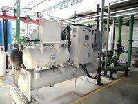 60Ton capacity air conditioning plant in working condition