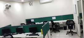 Fully furnished Commercial office space available for rent / lease