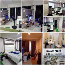 Dijual Murah Apartmen Trivium Lippo Cikarang, 2 BR furnish