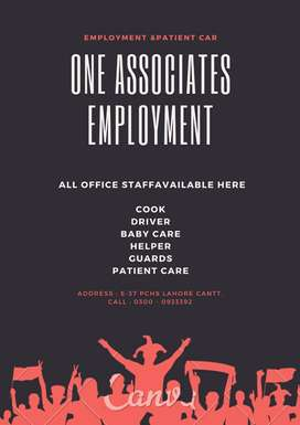 All Domestic Staff Available