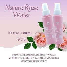 Bisa COD! Nature Rose Water 100ml  SR12