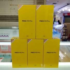 Xioami Poco M3 Pro 5G ram 4gb/64gb baru garansi resmi
