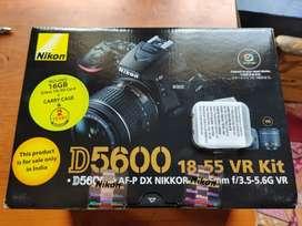 NIKON D5600 5MONTH OLD