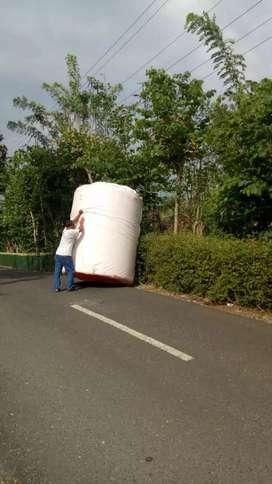 Tandon air 5000 liter Kebumen gratis antar bahan plastik tebal