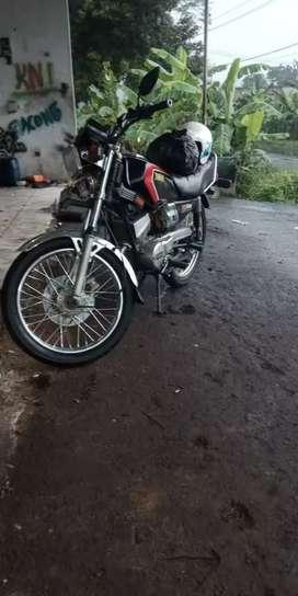 Yamaha rx king black kobra