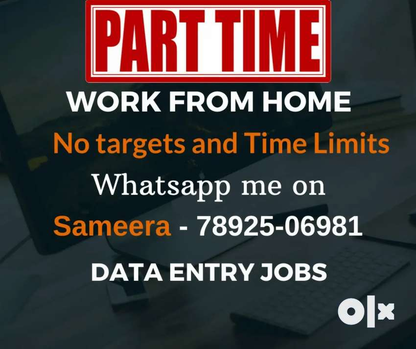 Earn money from home. Earn daily Rs.1000/-. Simple typing job. 0