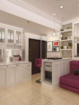 Desain interior dan renovasi apartemen rumah dll