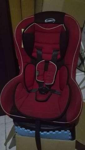 Car Seat/Tempat Duduk Bayi/Anak di Mobil Merk Pliko - Masih Bagus