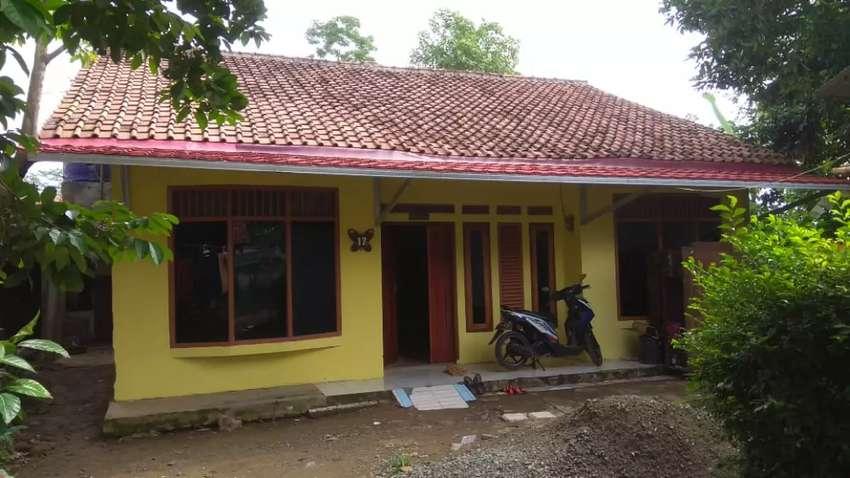 Rumah kampung Ciseeng Bogor 0