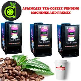asian cafe tea coffee vending machines and premix