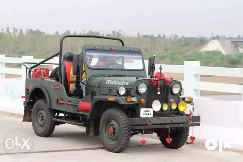 Open Jeep mahendra 0