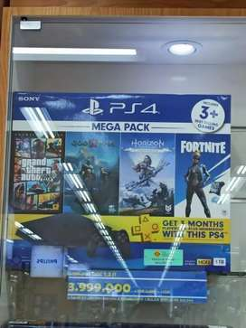 Ps4 slim megapack credit discount 1,2jt bunga 0%