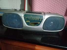 F M radio. Old