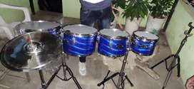 Benjo all roto set 1roto , 2 drums, 4 base, 2 thap with all stand