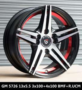 """13""""-3*100 & 4*100 alloy wheels available for Kwid"""