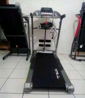 Alat fitness treadmill/TL 288 treadmill model tiga fungsi