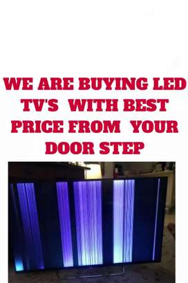 Panel Complaint LED TV? We are Buying Your Compliant LED TV'S