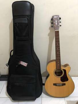 Gitar Cort L100F-NS mulus + semi-hard case