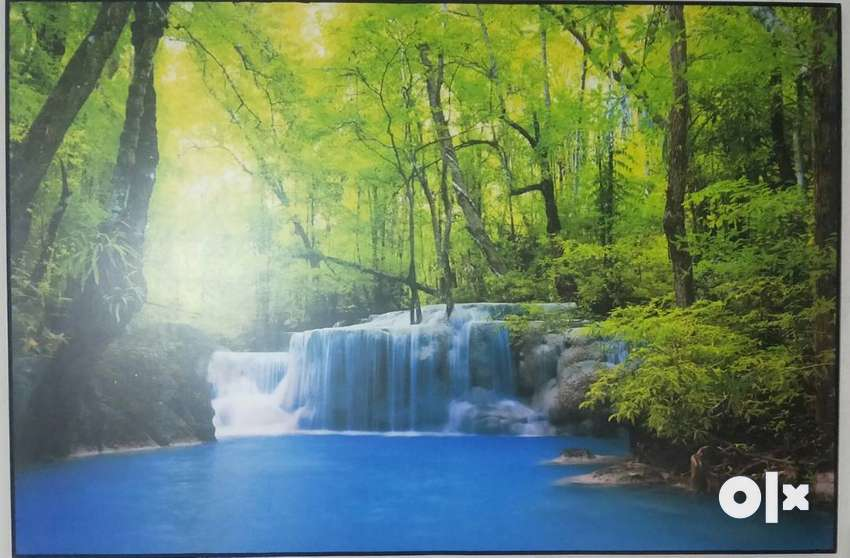 Wall painting ,Water Fall 2 ft*3ft size 0
