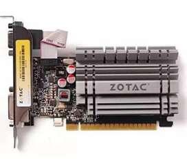 Zotac Gforce GT 730 Zone Edition 4GB Low profile