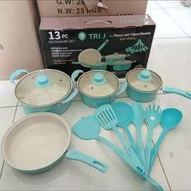 TRI J Panci Set 13 Pcs - Cookware Set 13 pcs