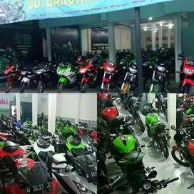 Ninja ss 2014 warna hijau hitam istimewa
