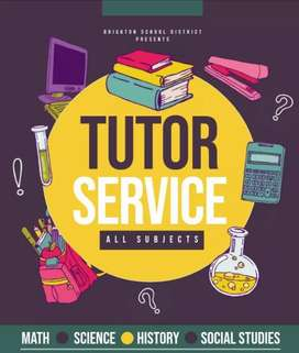 Home tutor available for 1st to 7th grade student for all subject