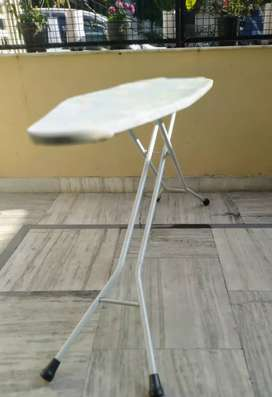 Foldable Ironing Board with Ironing Table with Iron