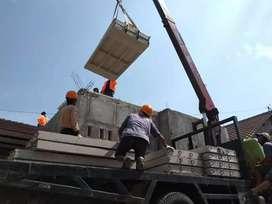 Tinggalkan cara lama ngedak simple cepat & ekonomis  dak beton flyslab