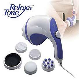 New Electric Relax & Spin Tone Handheld body Massager Machine