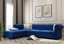 New divine  Chesterfield L shape sofa set   direct from factory