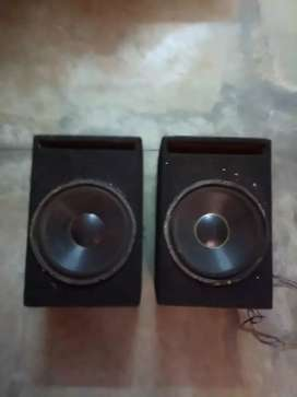 2 Subwoofer 12 Inch With Box
