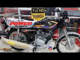BRAND NEW HONDA 125 ON EASY INSTALLMENTS