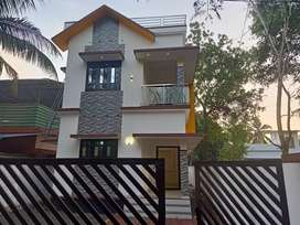 3'BHK 1200 sqft new house in alappuzha town north