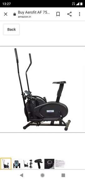 Aerofit gym cycle
