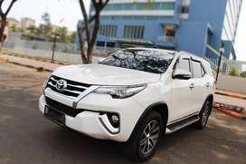 Toyota FORTUNER VRZ DIESEL AT 2017 WHITE SIAP DIBAWA PULANG JAMIN SUKA