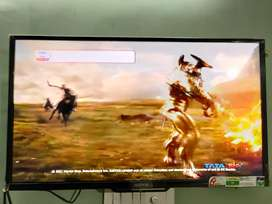 SONY smart android LED TV with new Tata sky setup box