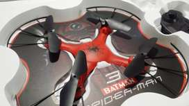 Brand New Packed Cute Flying RC Spiderman Drone (Quadcopter)