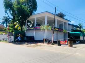 aluva kuttamassery 4.250cent 2000sqt commercial new building 95lakh
