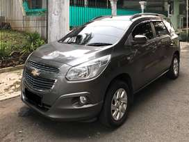 Chevrolet Spin LTZ 1.5 AT 2013 Abu-Abu Metalik