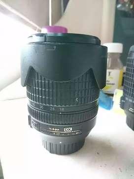 Dijual lensa nikon 18-115 vr dx
