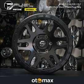 Velg Mobil Fuel Recoil Original Ring 18 Matt Black