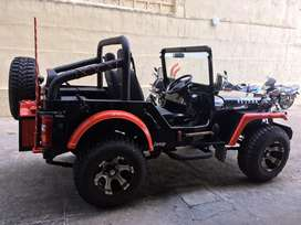 Modified Jeep with power steering Vizag registeredLife tax paid