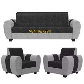 Cushion sofa 3 + 1 + 1