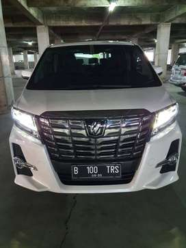 TOYOTA Alphard SC PS Heater 2015 KM 7900 Pajak bulan 8 White on Black