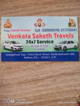Vekata saketh travels