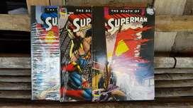 Jual Komik Superman (The Death of Superman) Volume 1-3