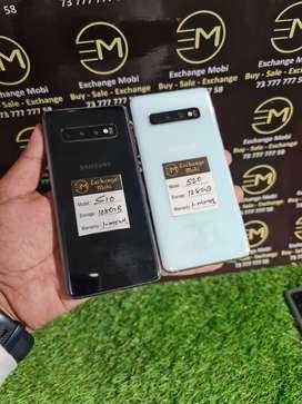 Samsung S10 -- 100% Conditions -- gst bill & Warranty -- All Accessori